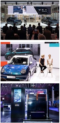 GWM Unveils Its New Cars at IAA Mobility 2021 to Seize the New Energy Market in Europe with First-mover Advantage