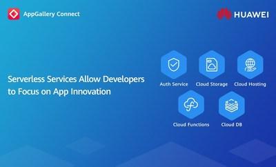 Servicios sin servidor de AppGallery Connect (PRNewsfoto/Huawei consumer business group)
